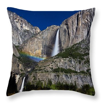 Moonbow Throw Pillow