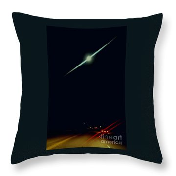 Moondate Throw Pillow