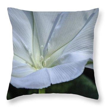 Moonflower 1 Throw Pillow
