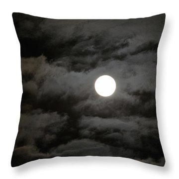 Moonlight Magic Throw Pillow
