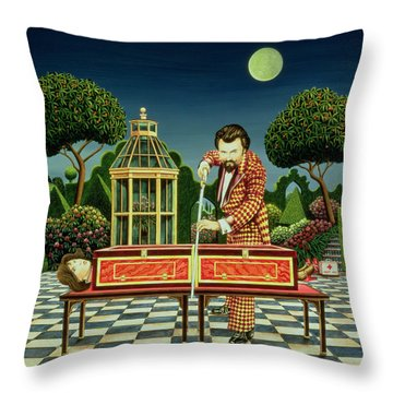 Moonlight Magician, 1979  Throw Pillow