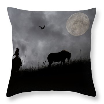 A Tale Of Shackleford  Throw Pillow