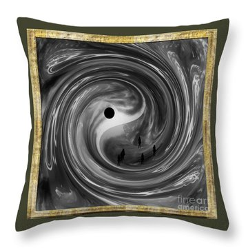 Moonlight Walkers Throw Pillow