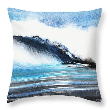 Moonlit Ocean Throw Pillow