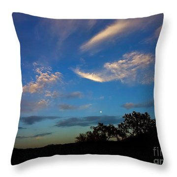 Moonrise Hill Throw Pillow