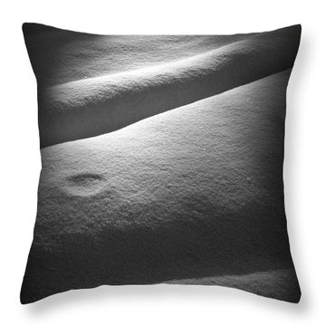 Moonscape Throw Pillow by C Ray  Roth