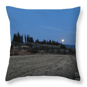 Moonshine In Arezzo Throw Pillow