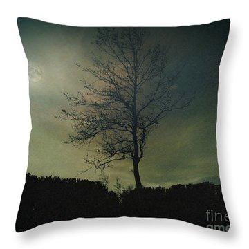 Moonspell Throw Pillow by Bedros Awak