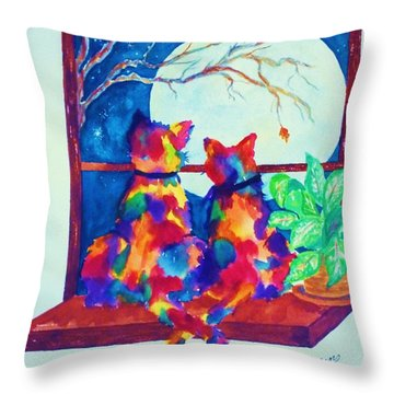 Moonstruck Ll Throw Pillow