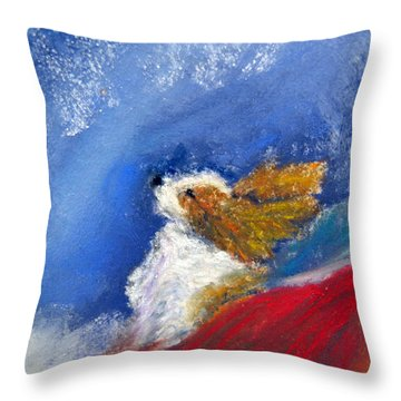 Moonstruck Throw Pillow by Loretta Luglio