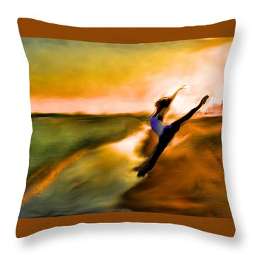 Moose In Law Throw Pillow