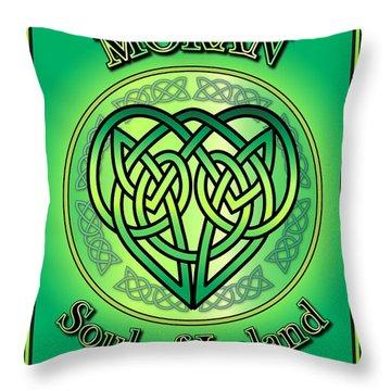 Moran Soul Of Ireland Throw Pillow