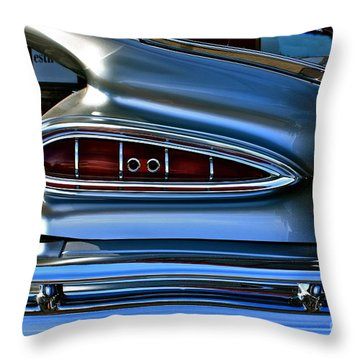 Throw Pillow featuring the photograph More Curves Than Marilyn by Linda Bianic