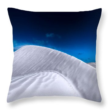 More Desert On The Horizon Throw Pillow