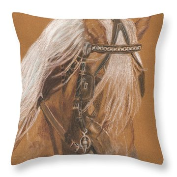 More From Fer A Cheval Throw Pillow