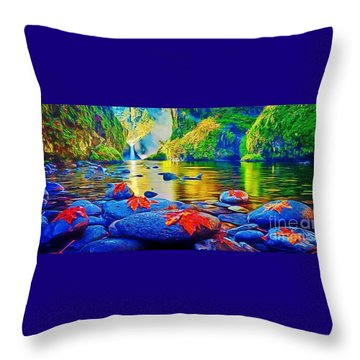 More Realistic Version Throw Pillow