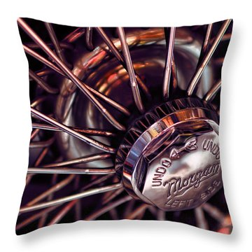Morgan Wire Wheel Throw Pillow