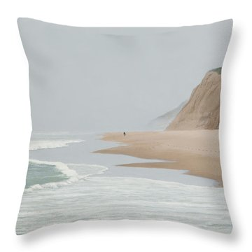Morning At Pomponio 2 Throw Pillow