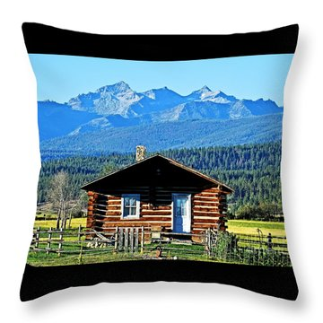 Throw Pillow featuring the photograph Morning At The Getaway by Joseph J Stevens