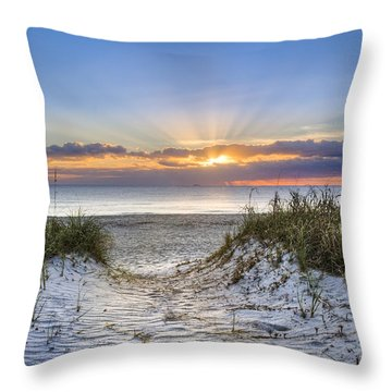 Morning Blessing Throw Pillow
