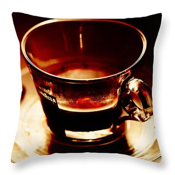 Morning Bliss Throw Pillow by Jenny Rainbow