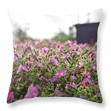 Morning Bugles Throw Pillow