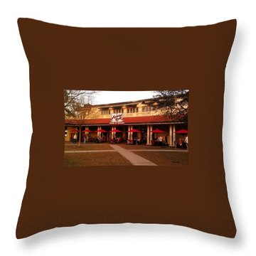 Morning Call In The Oaks - New Orleans City Park Throw Pillow