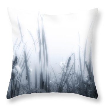 Morning Cat-o'-nine-tails Throw Pillow by Richard Bean
