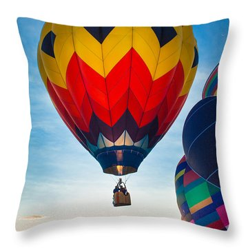 Morning Flight Throw Pillow by Inge Johnsson