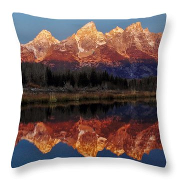 Throw Pillow featuring the photograph Morning Glory by Benjamin Yeager