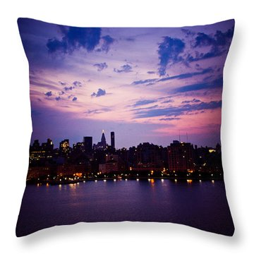Throw Pillow featuring the photograph Morning Glory by Sara Frank