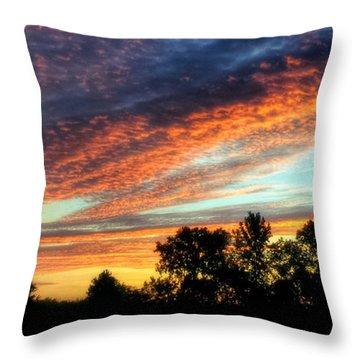 Morning Has Broken Throw Pillow