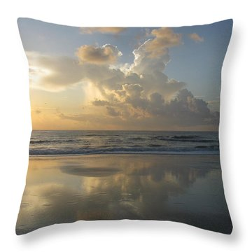 Morning Has Broken Throw Pillow by Ellen Meakin
