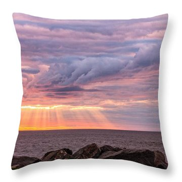 Morning Has Broken Throw Pillow by Mary Amerman