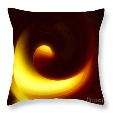 Morning Hope - Spiritual Abstract Art By Giada Rossi Throw Pillow by Giada Rossi