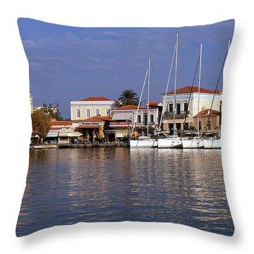 Aegina Throw Pillows