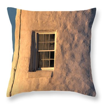 Morning Light At Pemaquid Throw Pillow
