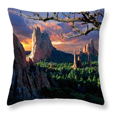 Pikes Place Throw Pillows