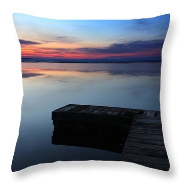 Morning Light Throw Pillow by Brian Boudreau