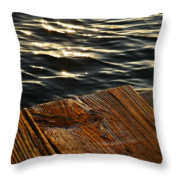 Morning Light Throw Pillow by Laura Fasulo