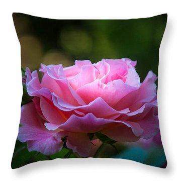 Throw Pillow featuring the photograph Morning Light by Patricia Babbitt