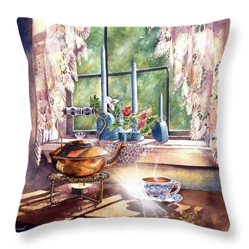 Morning Moment Throw Pillow