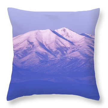 Morning Moon Throw Pillow