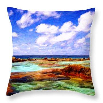 Fatu Hiva Throw Pillows