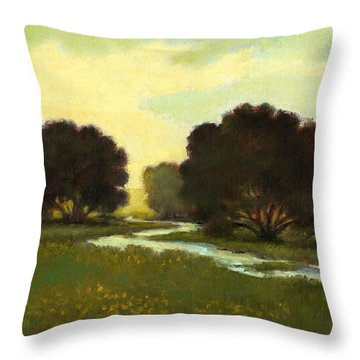 Morning Promise Throw Pillow