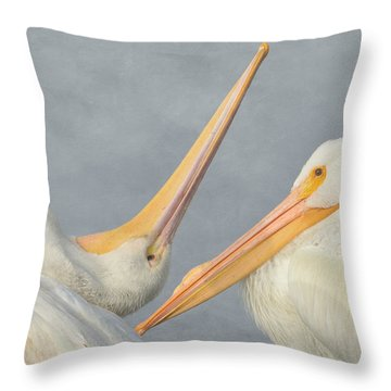 Morning Rituals Throw Pillow