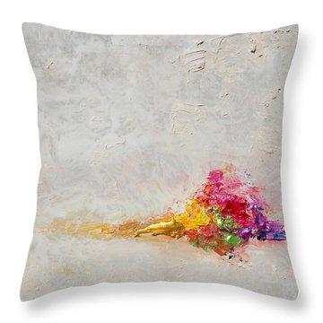 Morning Silence Throw Pillow
