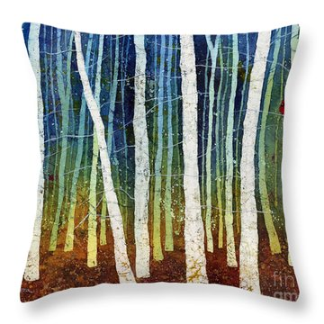Morning Song 3 Throw Pillow