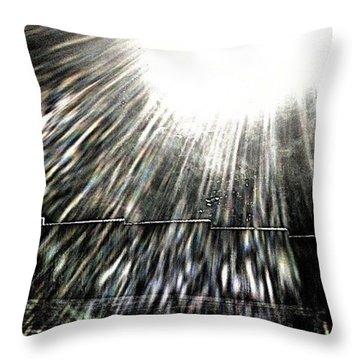 Morning Light Throw Pillow by Jason Michael Roust
