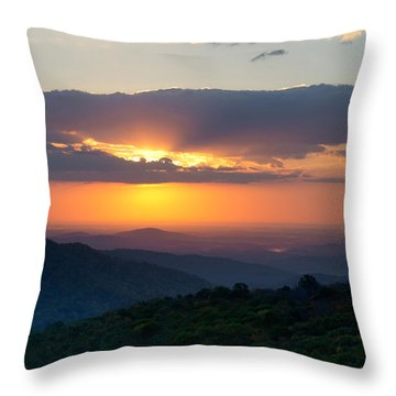 Throw Pillow featuring the photograph Mornings Like This by Melanie Moraga